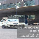 Cho thuê taxi tải giá rẻ tại phố Ân Xá
