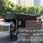 Dịch vụ cho thuê xe tải giá rẻ tại phố Đình Ngang