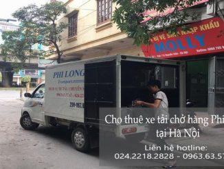 Cho thuê xe tải tại phố Bát Sứ