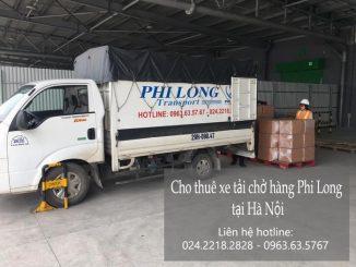 Dịch vụ thuê xe tải giá rẻ tại đường Cao Lỗ