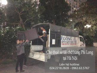 Dịch vụ xe tải chuyển nhà tại phố Nguyễn Trãi 2019