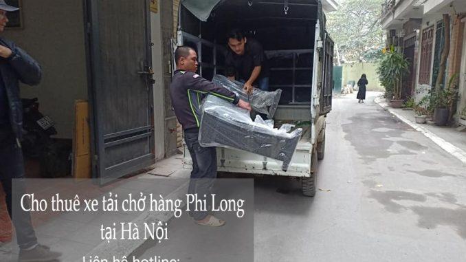 Dịch vụ thuê xe tải giá rẻ tại phố Hạ Yên 2019