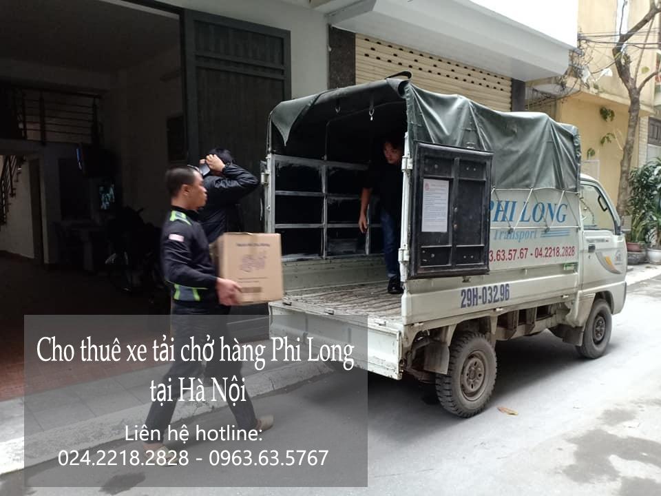 Dịch vụ thuê xe tải tại phố Hàng Bài 2019
