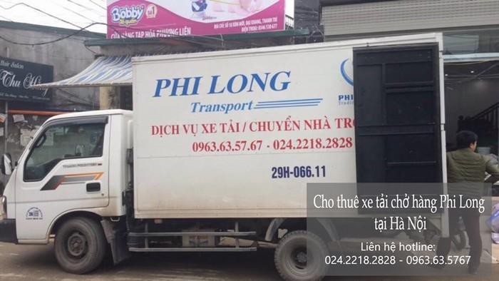 Cho thuê xe tải tại phố Đồng Dinh