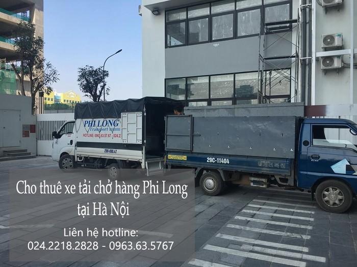 Dịch vụ thuê xe tải tại phố Nguyễn Bỉnh Khiêm