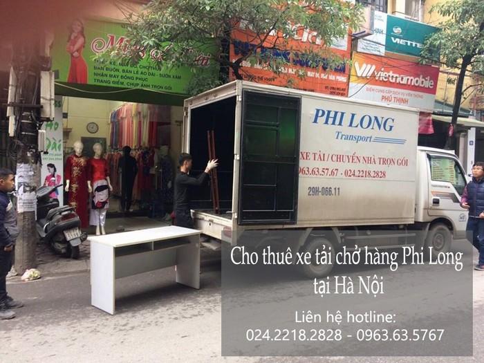 Dịch vụ cho thuê xe tải giá rẻ tại đường Triệu Việt Vương