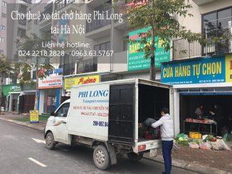 Cho thuê xe tải tại phố Đặng Phúc Thông