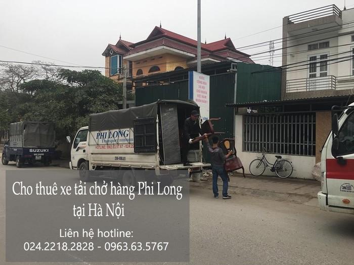 Cho thuê xe tải tại phố Quỳnh Lôi