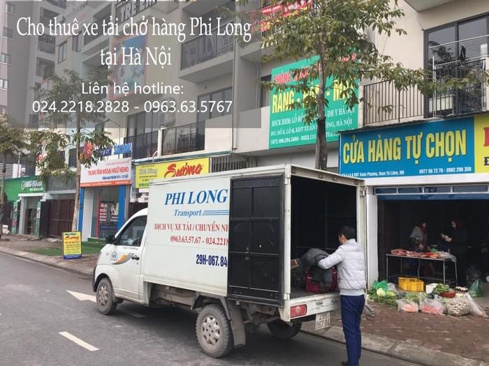 Dịch vụ xe tải tại phố Ngô Gia Khảm