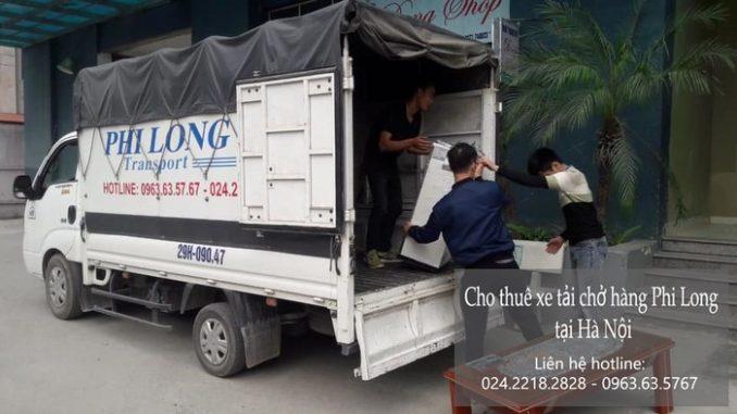 Cho thuê xe tải tại phố Nguyễn Lam