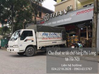 Cho thuê xe tải tại phố Hồng Tiến