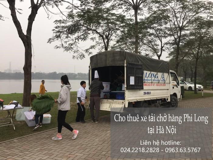 Dịch vụ thuê xe tải tại phố Nguyễn Chánh