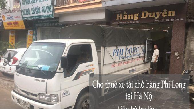 Dịch vụ cho thuê xe tải Phi Long tại phố La Nội