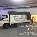 Dịch vụ cho thuê xe tải tại phố Trung Mầu