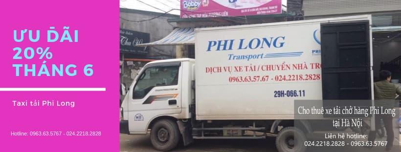 Dịch vụ cho thuê xe tải tại phố Trần Nhật Duật