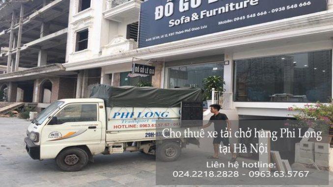 Dịch vụ thuê xe tải tại phố Trung Kiên