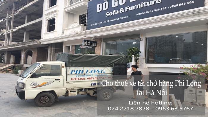 Dịch vụ taxi tải tại phố Lê Thanh Nghị