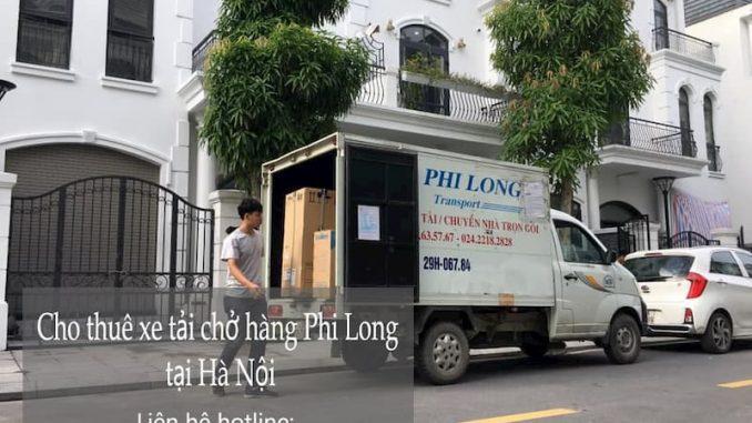 Thuê xe tải Phi Long trọn gói tại phố Mai Động