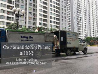 Dịch vụ thuê xe tải tại phố Sa Đôi