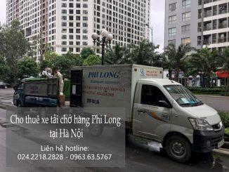 Dịch vụ thuê xe tải Phi Long tại phố Nguyễn Hoàng