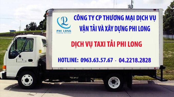 Dịch vụ thuê xe tải tại phố Ngũ Hiệp