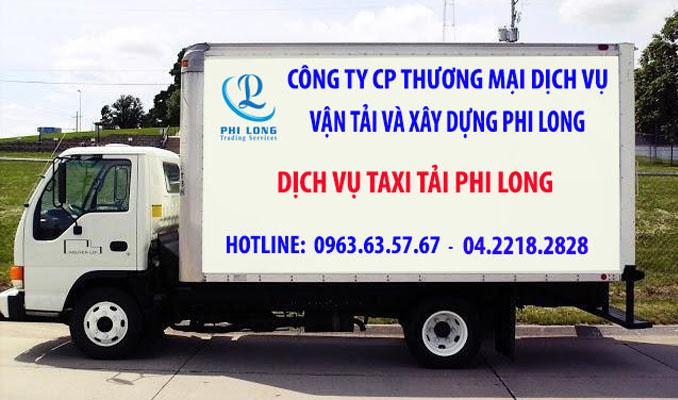 Thuê xe tải Phi Long tại phố Đào Văn Tập