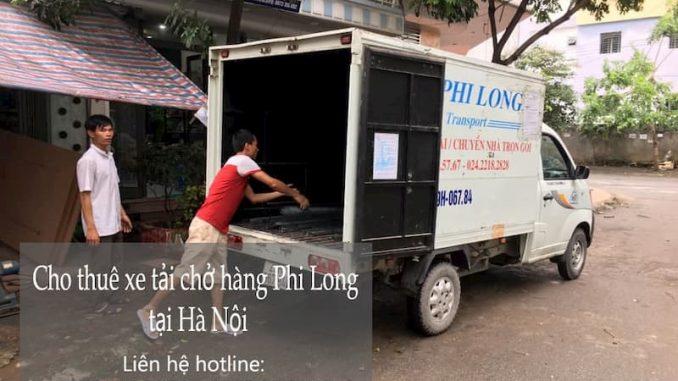 Thuê xe tải giá rẻ Phi Long tại phố Hội Xá