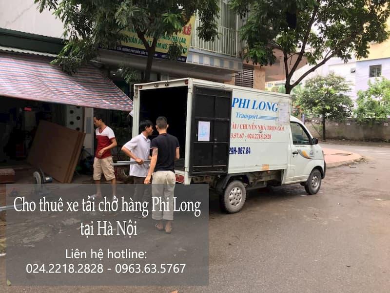 Dịch vụ cho thuê xe tải chuyển nhà tại phố Chùa Quỳnh