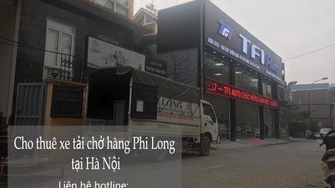 Dịch vụ thuê xe tải Phi Long tại phố Phú Kiều