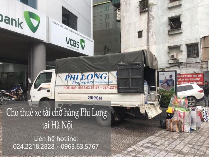 Thuê xe tải Phi Long tại phố Gia Thụy