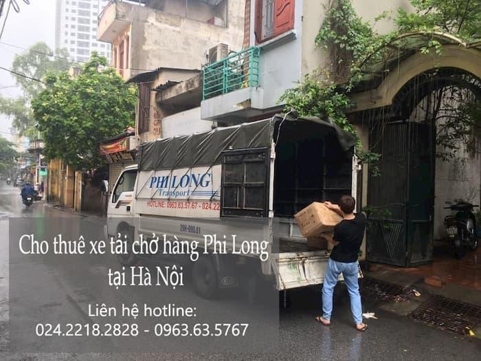 Dịch vụ thuê xe tải tại phố Thanh Đàm