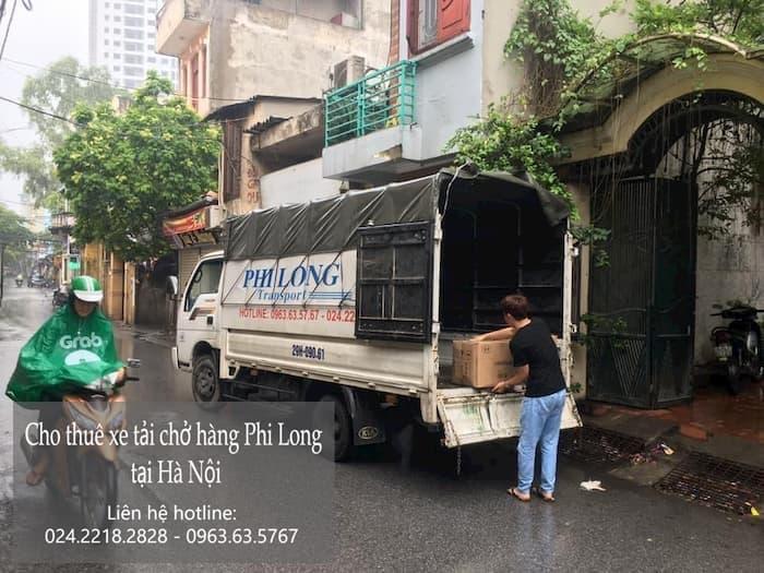 Dịch vụ thuê xe tải tại phố Thụy Lôi