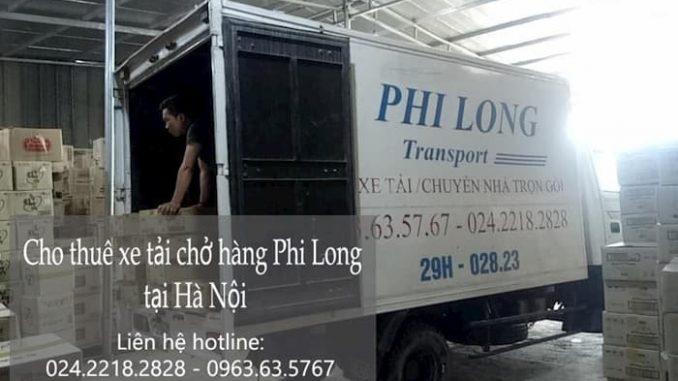 Dịch vụ thuê xe tải tại phố Lê Hữu Tựu