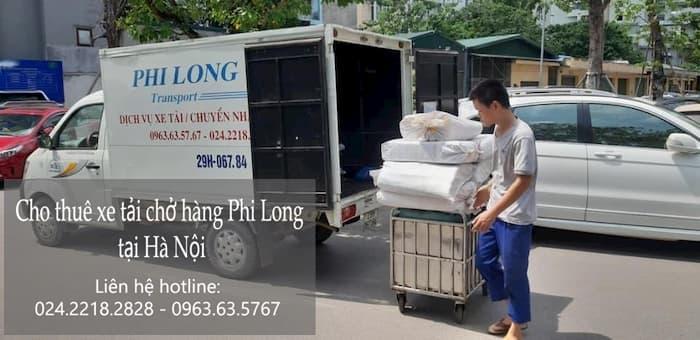 Dịch vụ thuê xe tải tại phố Tân Khai