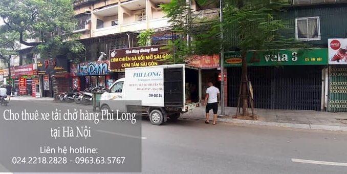 Dịch vụ thuê xe tải tại phố Phan Phù Tiên