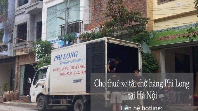 Dịch vụ cho thuê xe tải Phi Long tại phố Cầu Diễn