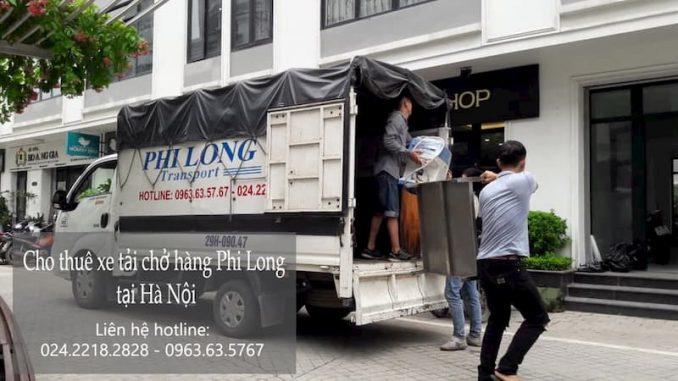 Dịch vụ taxi tải giá rẻ Phi Long tại phố Đình Thôn