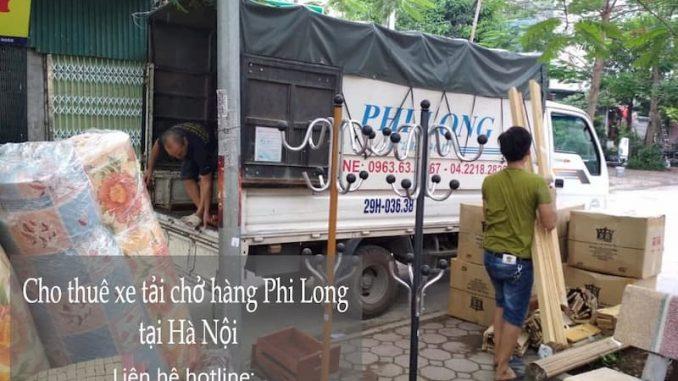 Cho thuê xe tải chuyên nghiệp Phi Long tại phố Đặng Thùy Trâm