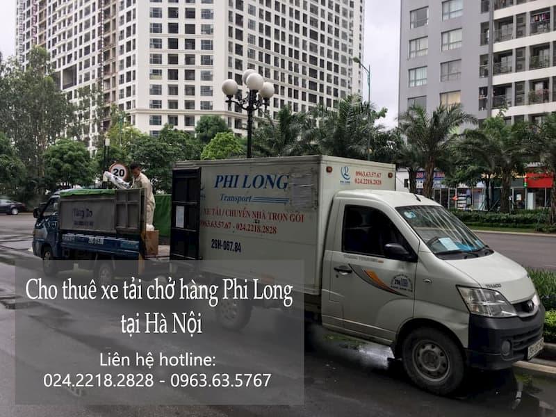 Dịch vụ cho thuê xe tải Phi Long tại phố Hoài Thanh