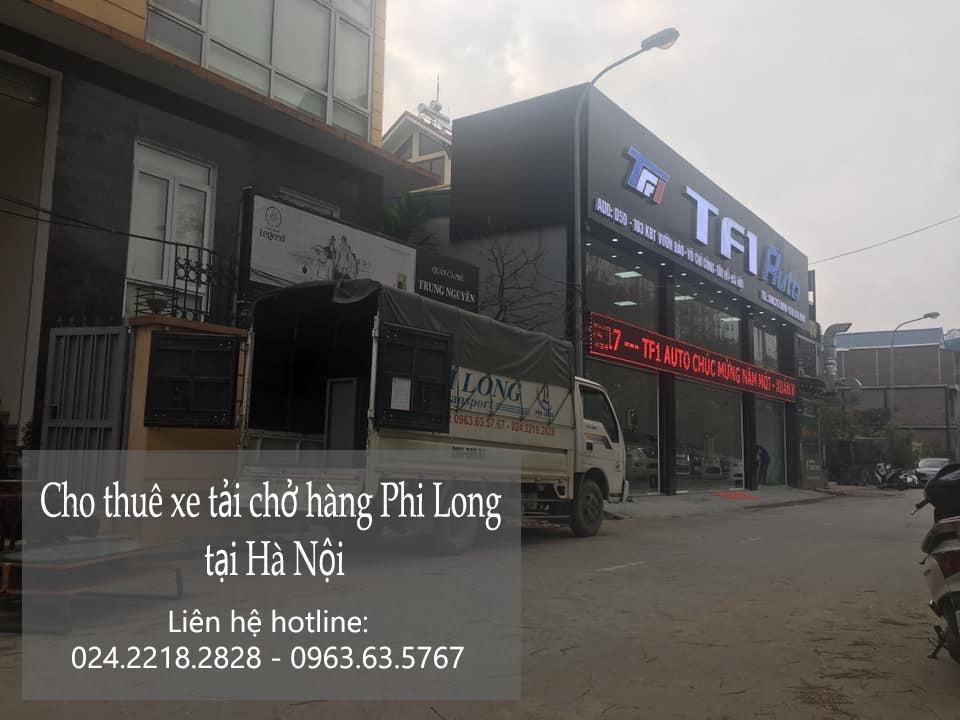 Cho thuê xe tải trọn gói Phi Long tại đường Hồ Tùng Mậu