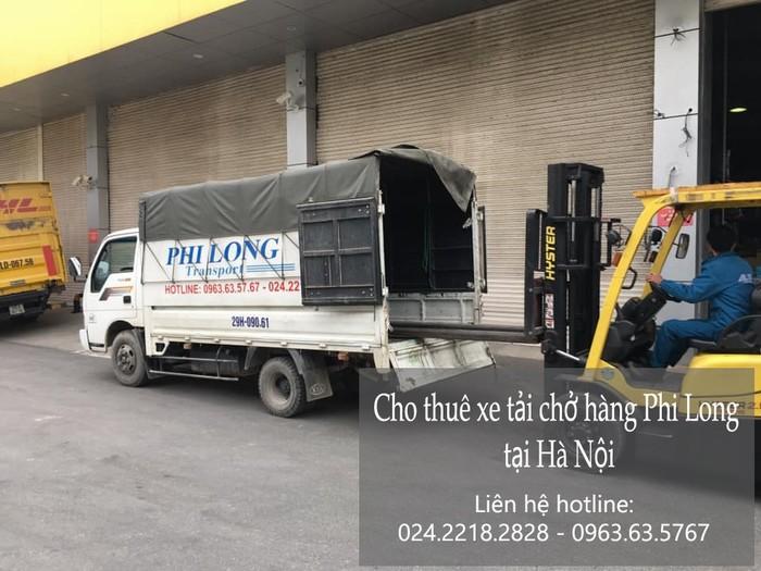 Xe tải chở hàng thuê Phi Long tại phố Đỗ Xuân Hợp