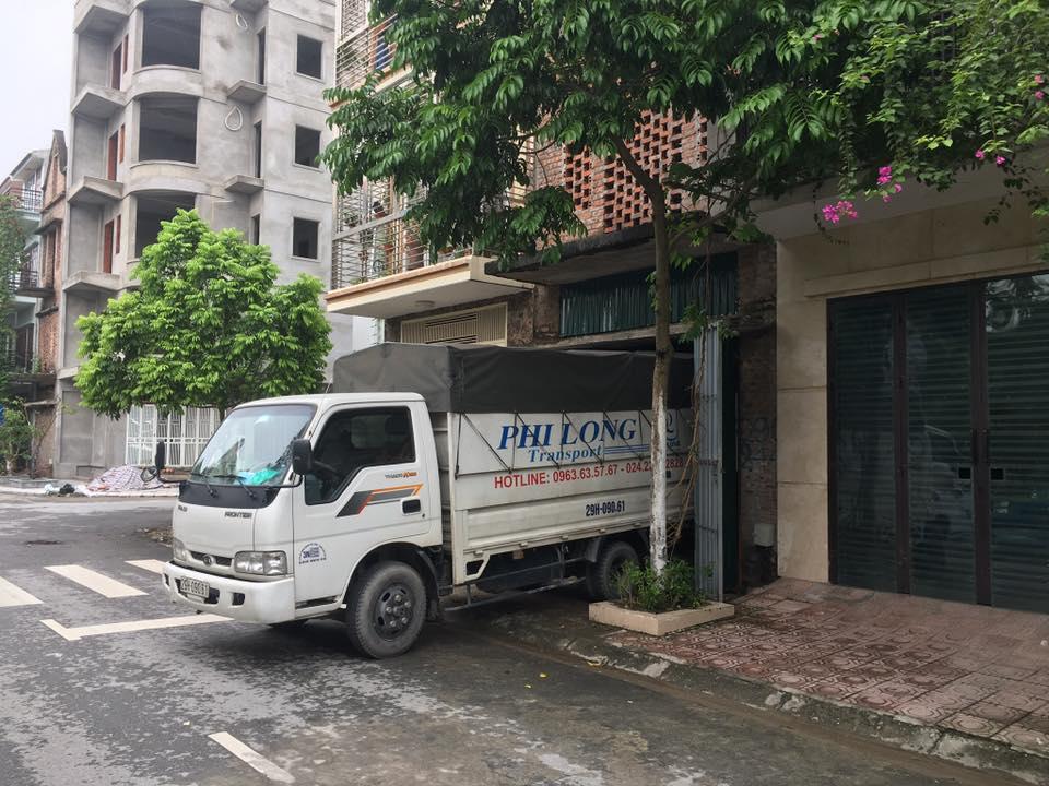 Dịch vụ thuê xe tải Phi Long tại phường Đức Giang