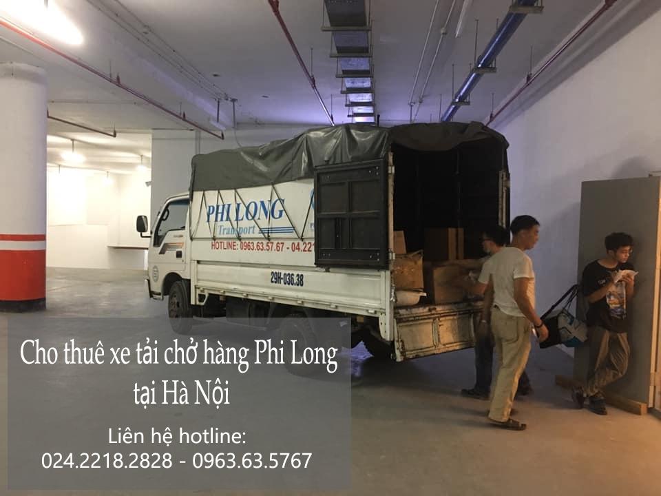 Dịch vụ xe tải giá rẻ Phi Long tại phố Hà Huy Tập