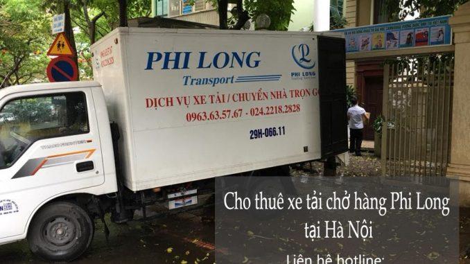 Dịch vụ thuê xe tải tại phường Phú Diễn