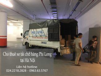 Hãng thuê xe tải chất lượng Phi Long tại phố Chu Văn An
