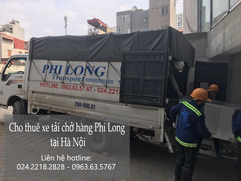 Phi Long hãng taxi tải hàng đầu phố Châu Long