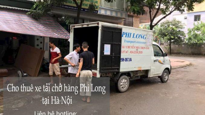 Hãng cho thuê xe tải Phi Long phố Độc Lập