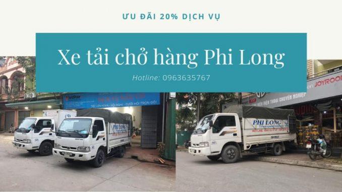 Dịch vụ cho thuê xe tải tại xã Đại Thành