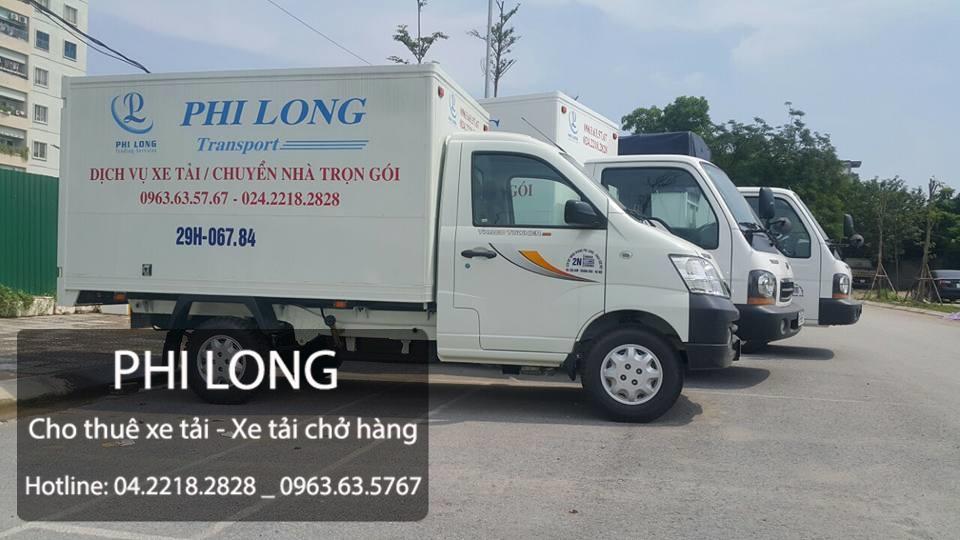 Dịch vụ thuê xe tải Phi Long tại xã Tân Lập