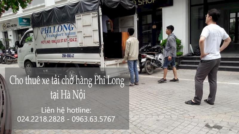 Thuê xe tải chất lượng cao Phi Long đường Láng
